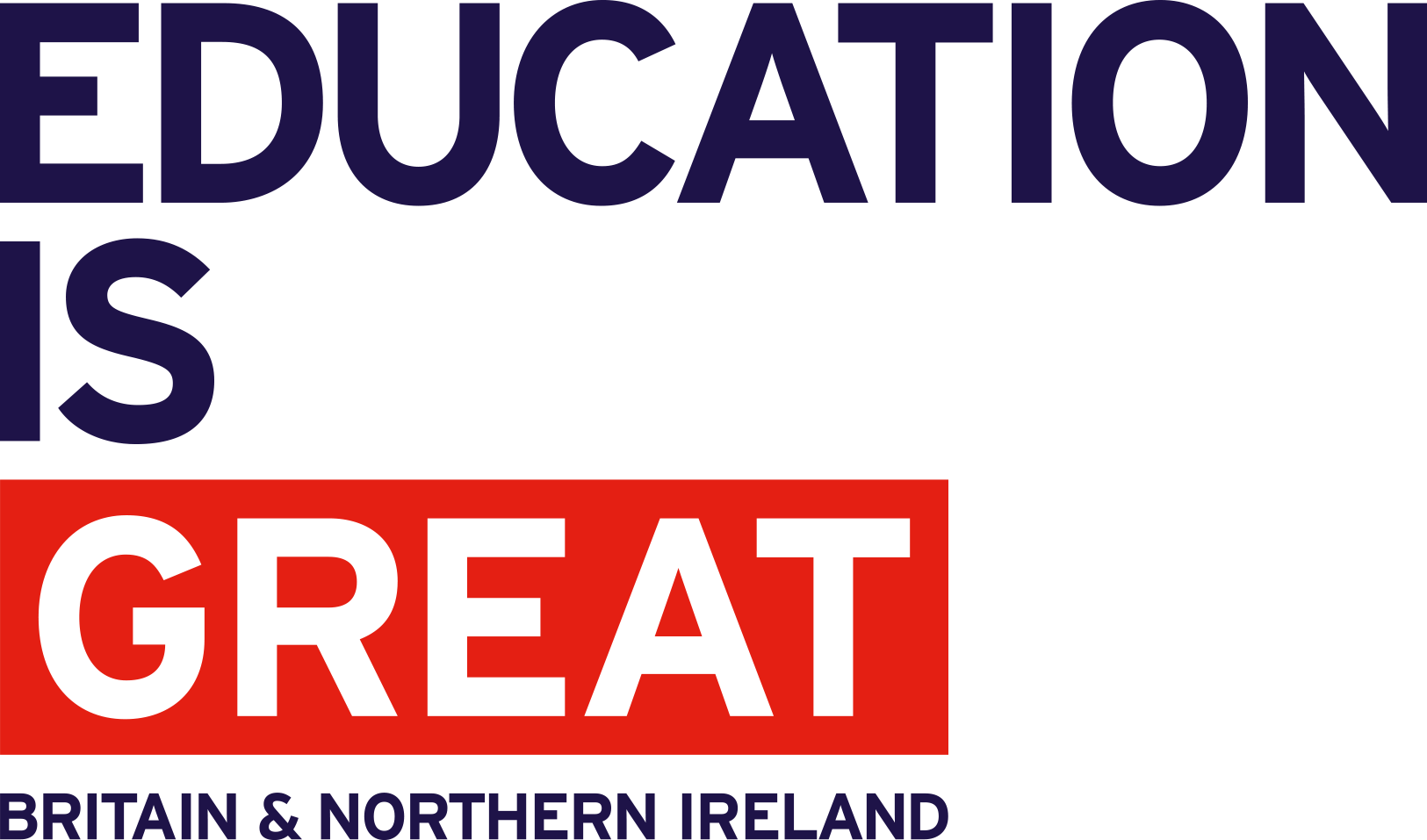 EDUCATION is GREAT NoFlag Blue RGB BNI